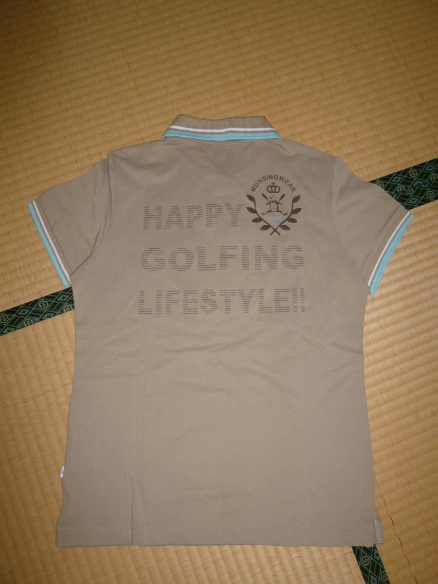 パーリーゲイツ■ポロシャツ & マンシングウェア 新品ポロシャツ 2枚セット レディース Mサイズ ゴルフウェア _画像6
