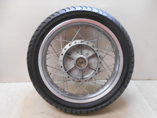 【1600802013】リア ホイール アルミワイドリム カスタムホイール BT45R カワサキ Z1 Z2 KAWASAKI バイク パーツ_画像1