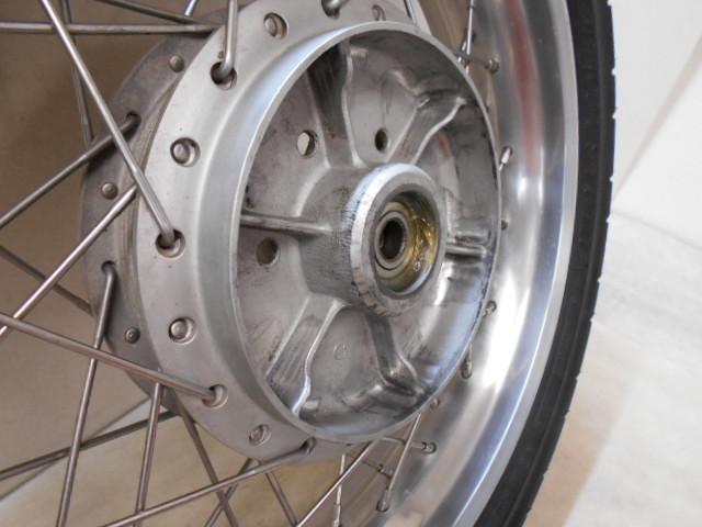 【1600802013】リア ホイール アルミワイドリム カスタムホイール BT45R カワサキ Z1 Z2 KAWASAKI バイク パーツ_画像2