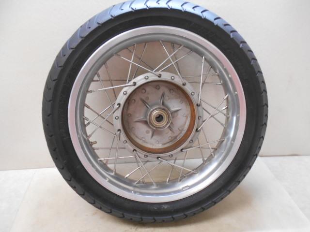 【1600802013】リア ホイール アルミワイドリム カスタムホイール BT45R カワサキ Z1 Z2 KAWASAKI バイク パーツ_画像5