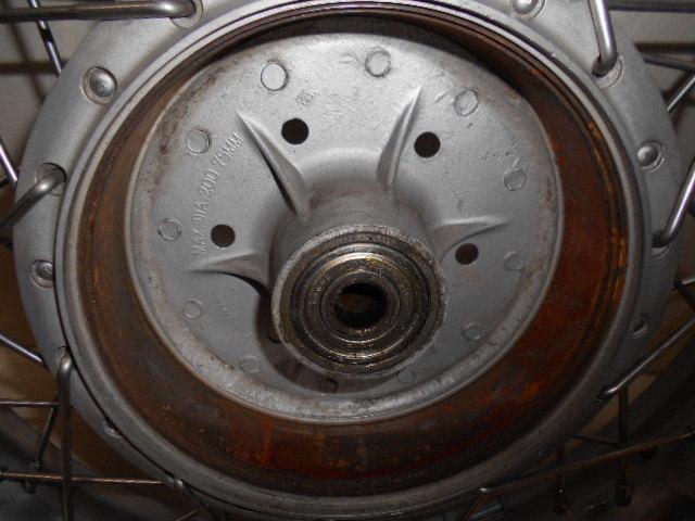 【1600802013】リア ホイール アルミワイドリム カスタムホイール BT45R カワサキ Z1 Z2 KAWASAKI バイク パーツ_画像6