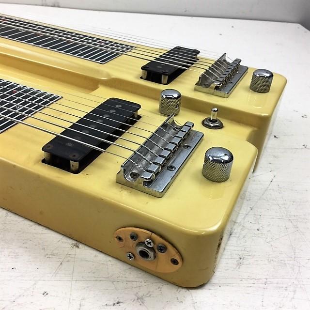 カノウプス Canopus ダブルネック 8弦スチールギター◆ハードケース付_画像6