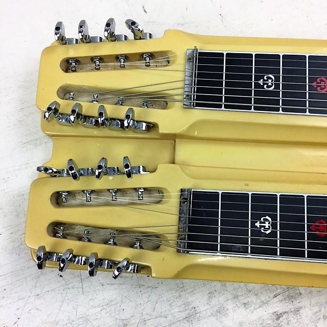 カノウプス Canopus ダブルネック 8弦スチールギター◆ハードケース付_画像3