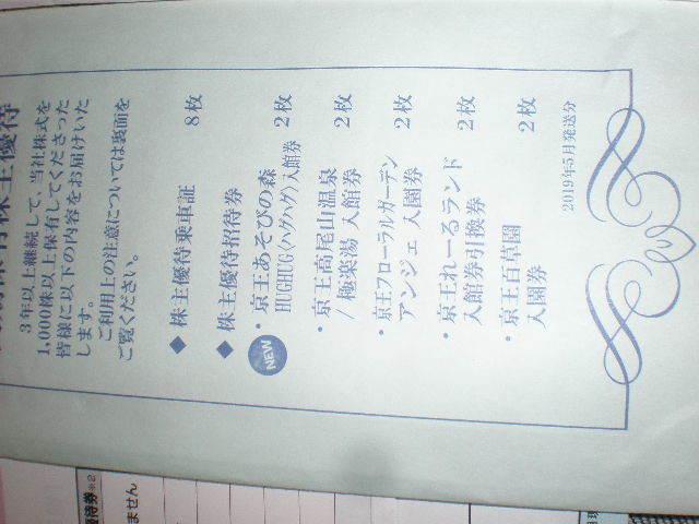 ☆ 必見!! 京王電鉄 株主優待乗車証44枚 株主優待券 株主優待招待券他、即決有り!!_画像4