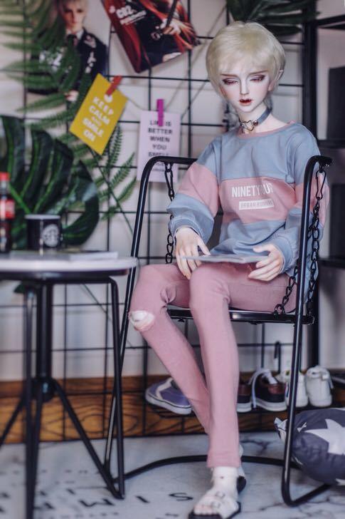新品 BJD用家具 机ブランコ椅子2点セット SD/70cmサイズドール用 doll 球体関節人形用 撮影 SSー004_画像2