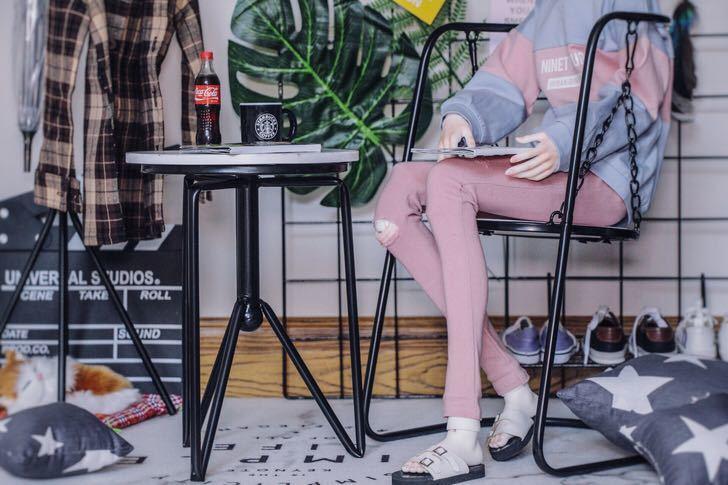 新品 BJD用家具 机ブランコ椅子2点セット SD/70cmサイズドール用 doll 球体関節人形用 撮影 SSー004_画像1