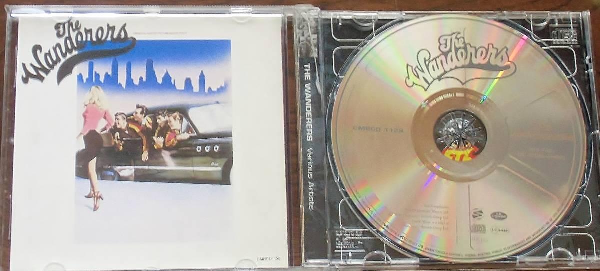 最安 希少 ディスク美品 The Wanderers ザ・ワンダラーズ ORIGINAL SOUNDTRACK RECORDINGS サントラ CD_画像2