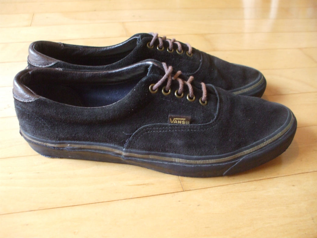 90'S VINTAGE OLD VANS ERA SUEDE MADE IN USA ビンテージ バンズ エラ スウェード_画像5