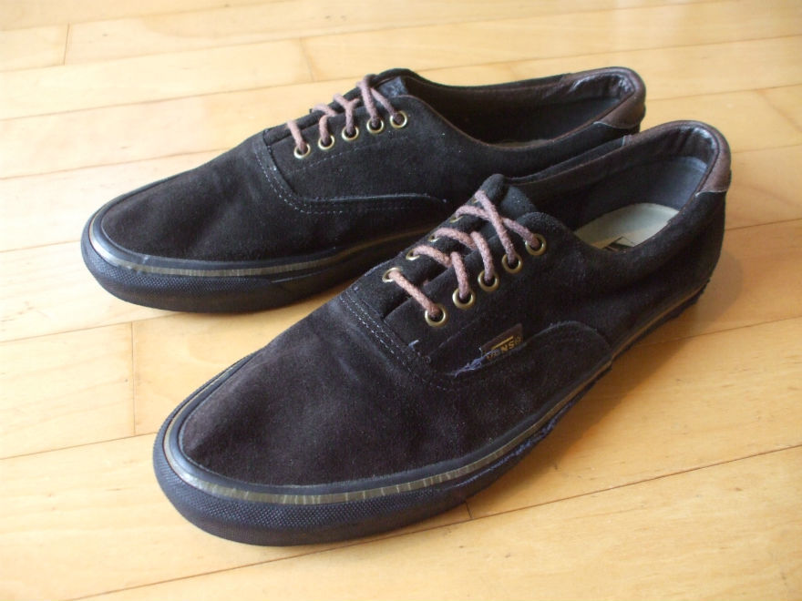 90'S VINTAGE OLD VANS ERA SUEDE MADE IN USA ビンテージ バンズ エラ スウェード