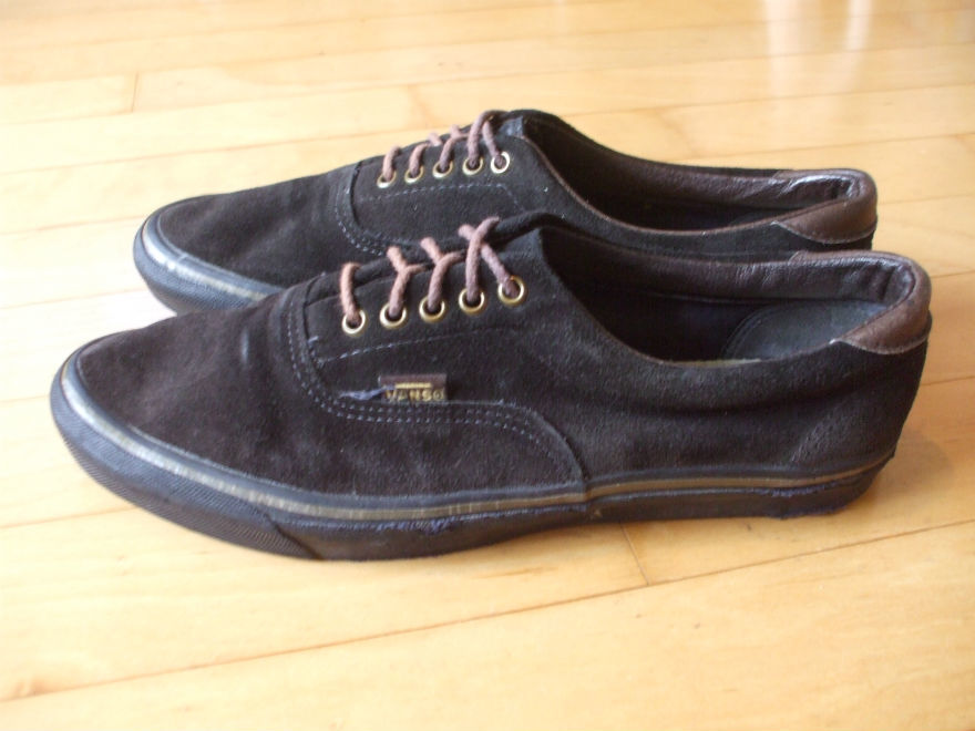90'S VINTAGE OLD VANS ERA SUEDE MADE IN USA ビンテージ バンズ エラ スウェード_画像3
