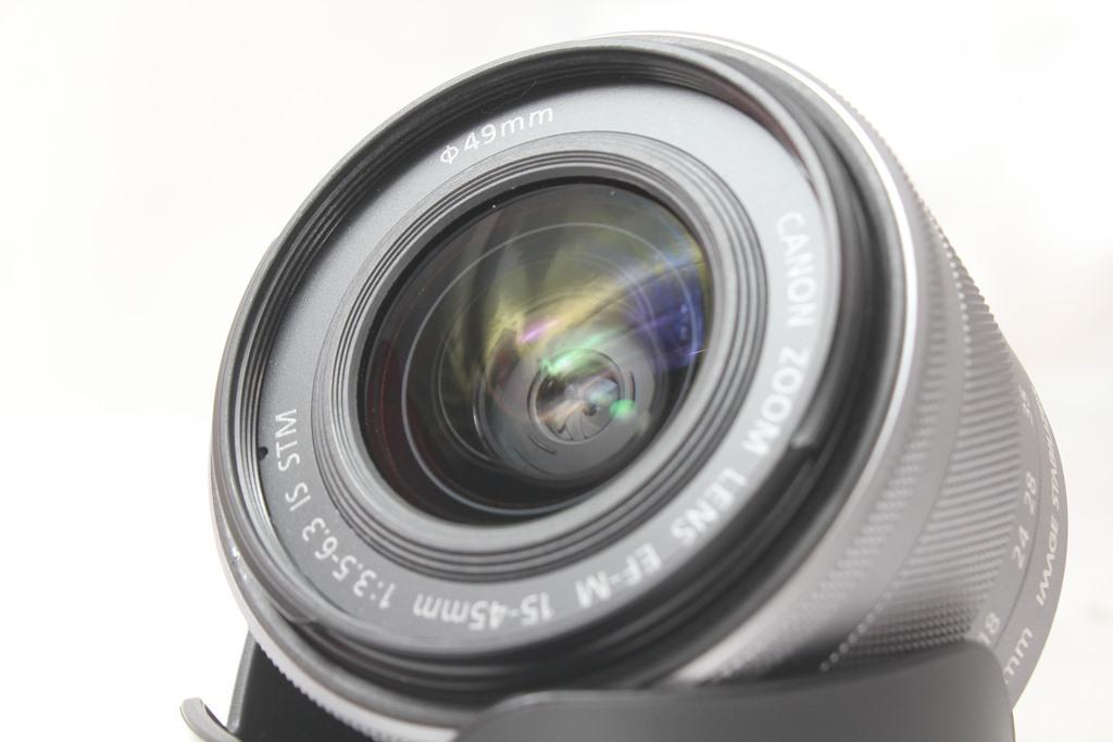 ★【新品級】Canon EF-M15-45mm F3.5-6.3 IS STM ★手ブレ防止付きミラーレス用レンズ 小さくて超軽いからどこでも持っていける!_画像2