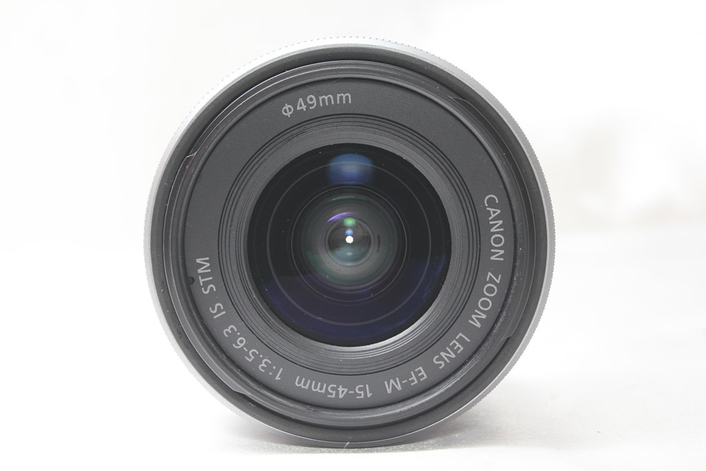 ★【新品級】Canon EF-M15-45mm F3.5-6.3 IS STM ★手ブレ防止付きミラーレス用レンズ 小さくて超軽いからどこでも持っていける!_画像4