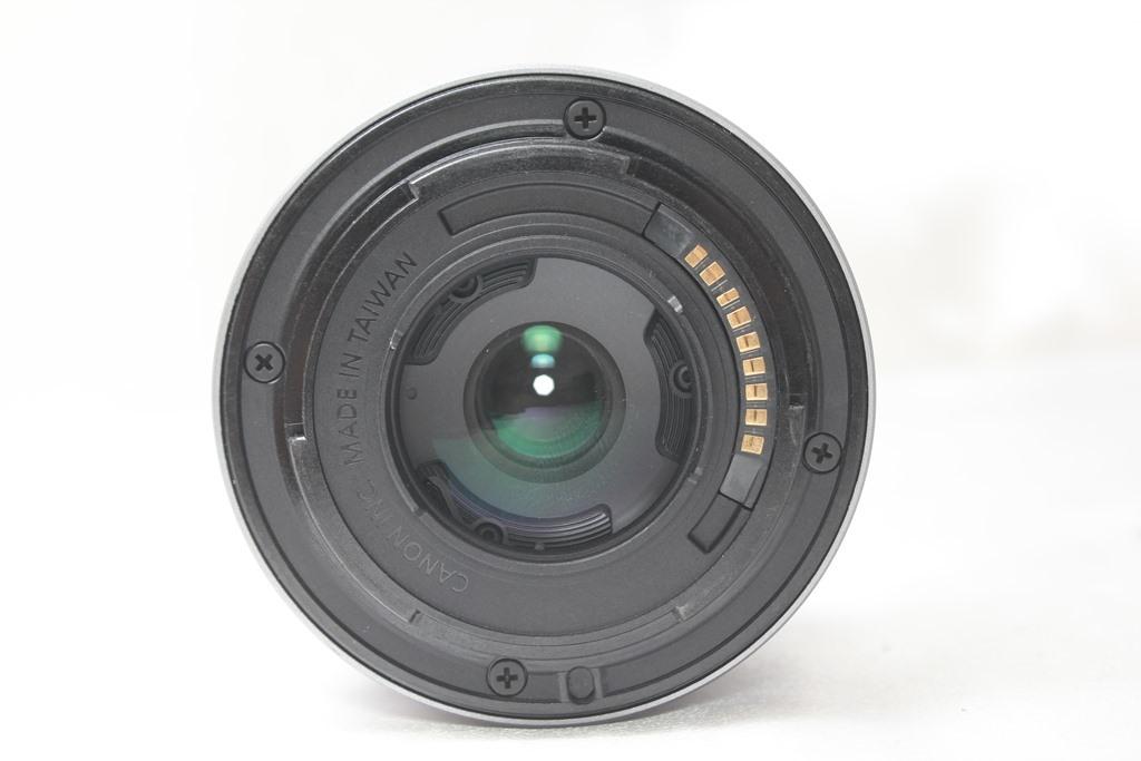 ★【新品級】Canon EF-M15-45mm F3.5-6.3 IS STM ★手ブレ防止付きミラーレス用レンズ 小さくて超軽いからどこでも持っていける!_画像5