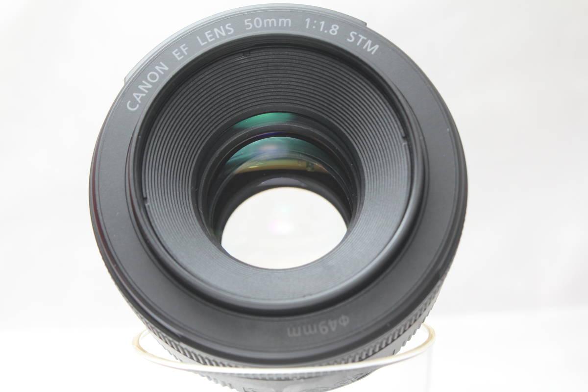 ★【新品級 とにかく軽い】Canon EF50mm F1.8 STM ★人気の神レンズの後継機 単焦点レンズ 軽い!早い!静音!_画像2