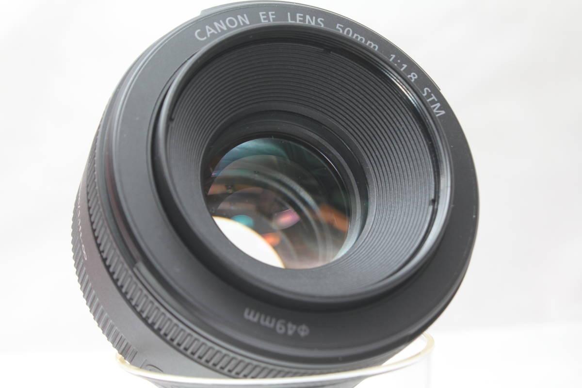 ★【新品級 とにかく軽い】Canon EF50mm F1.8 STM ★人気の神レンズの後継機 単焦点レンズ 軽い!早い!静音!_画像6