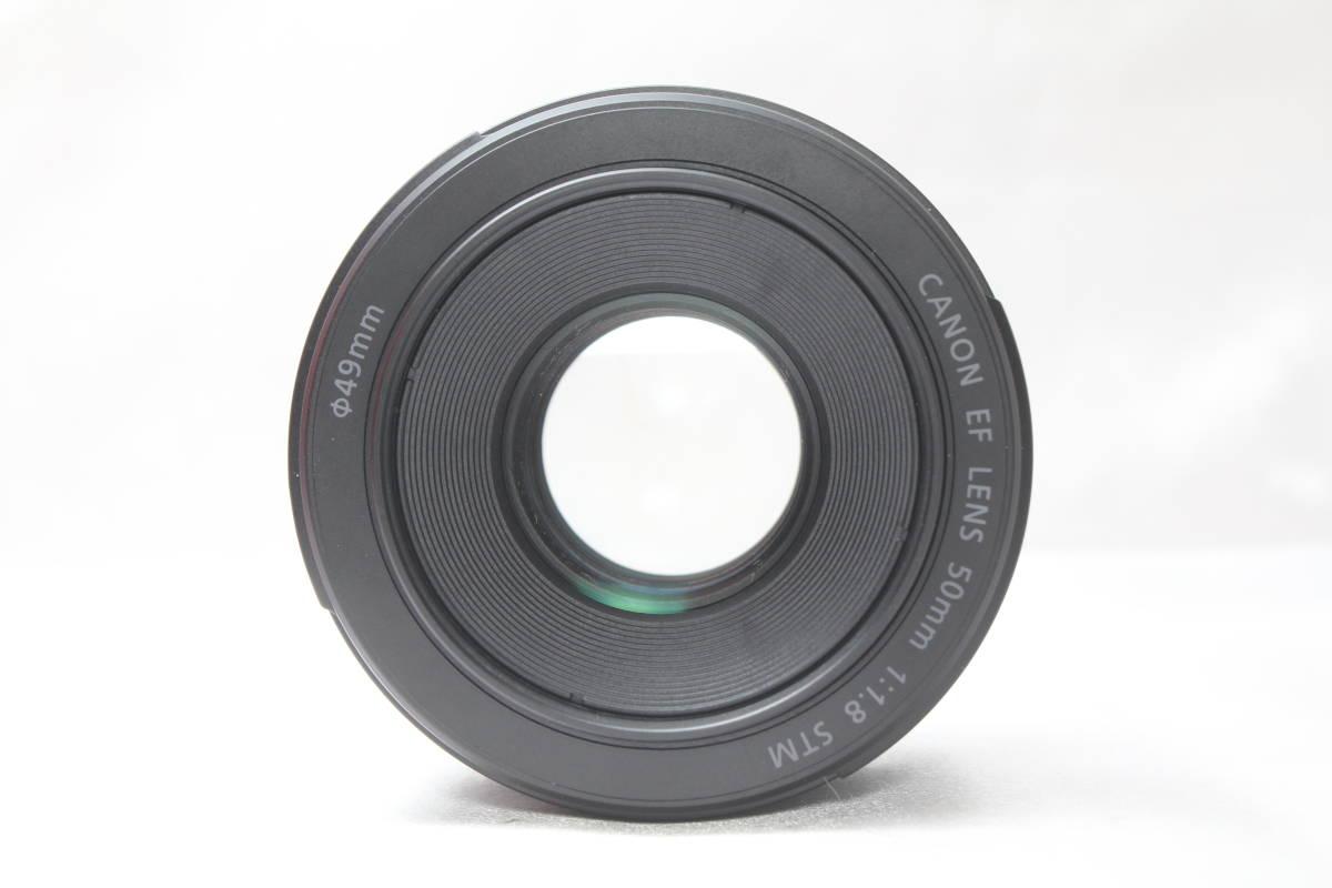 ★【新品級 とにかく軽い】Canon EF50mm F1.8 STM ★人気の神レンズの後継機 単焦点レンズ 軽い!早い!静音!_画像7