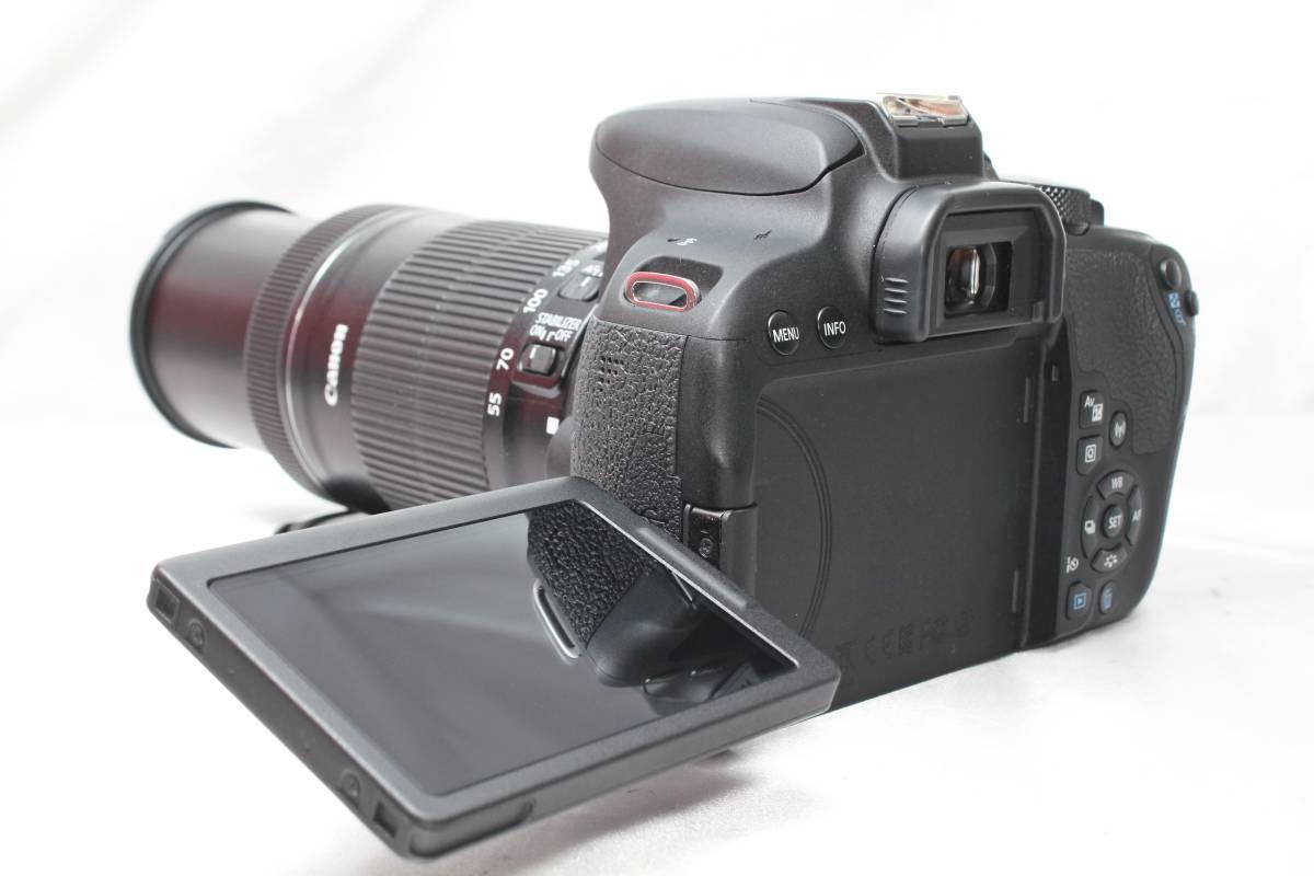 ★【新品級 手ブレ防止&望遠 ダブルレンズ スターターセット】 Canon EOS Kiss X9i ★EF-S18-55 IS EF-S55-250 STM ★220EX 純正ストロボ付_画像3