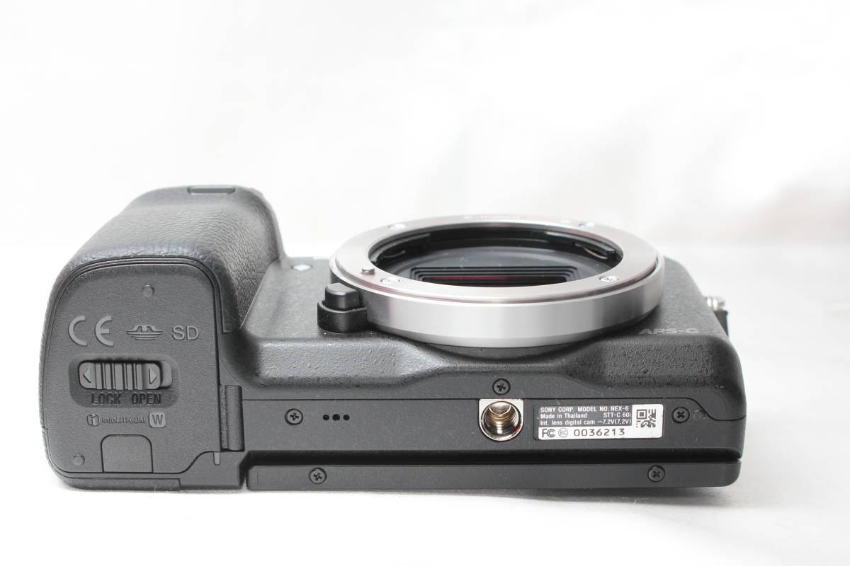 ★【極上美品】SONY NEX-6 ★超人気ミラーレスカメラ ★かばんにラクラク入るサイズ!★スグ使えます!!_画像5