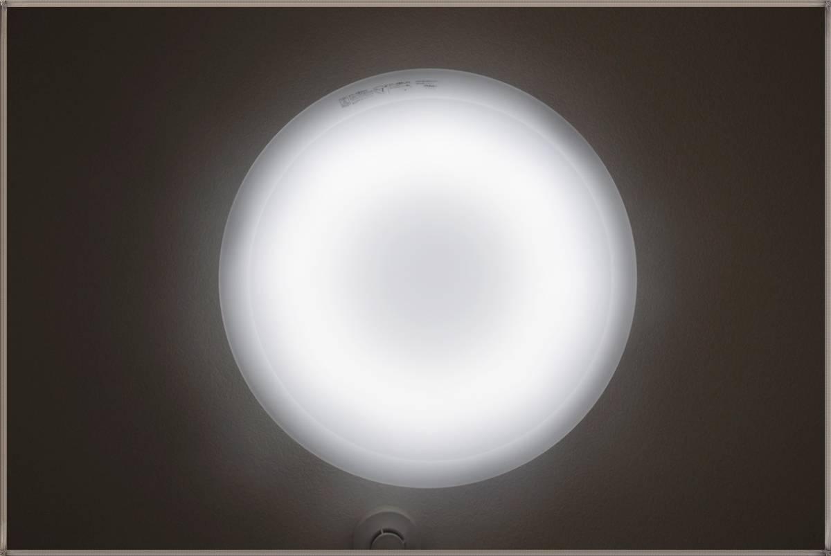 NECライティングLEDシーリングライト調光タイプ8~10畳用2014年製 昼光色+電球色 ホタルック機能付HLDCC1033リモコン無し点灯確認済み_画像10