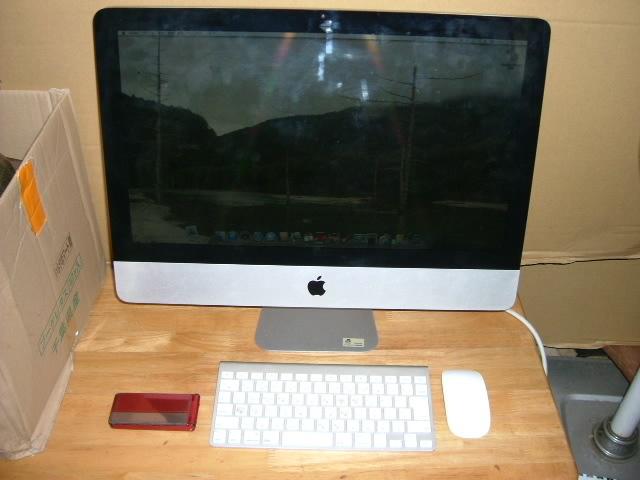 アップル製 Mac 一体型(白)&キーボード マウス 使用確認済