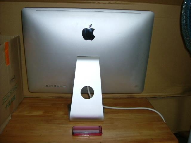 アップル製 Mac 一体型(白)&キーボード マウス 使用確認済_画像3