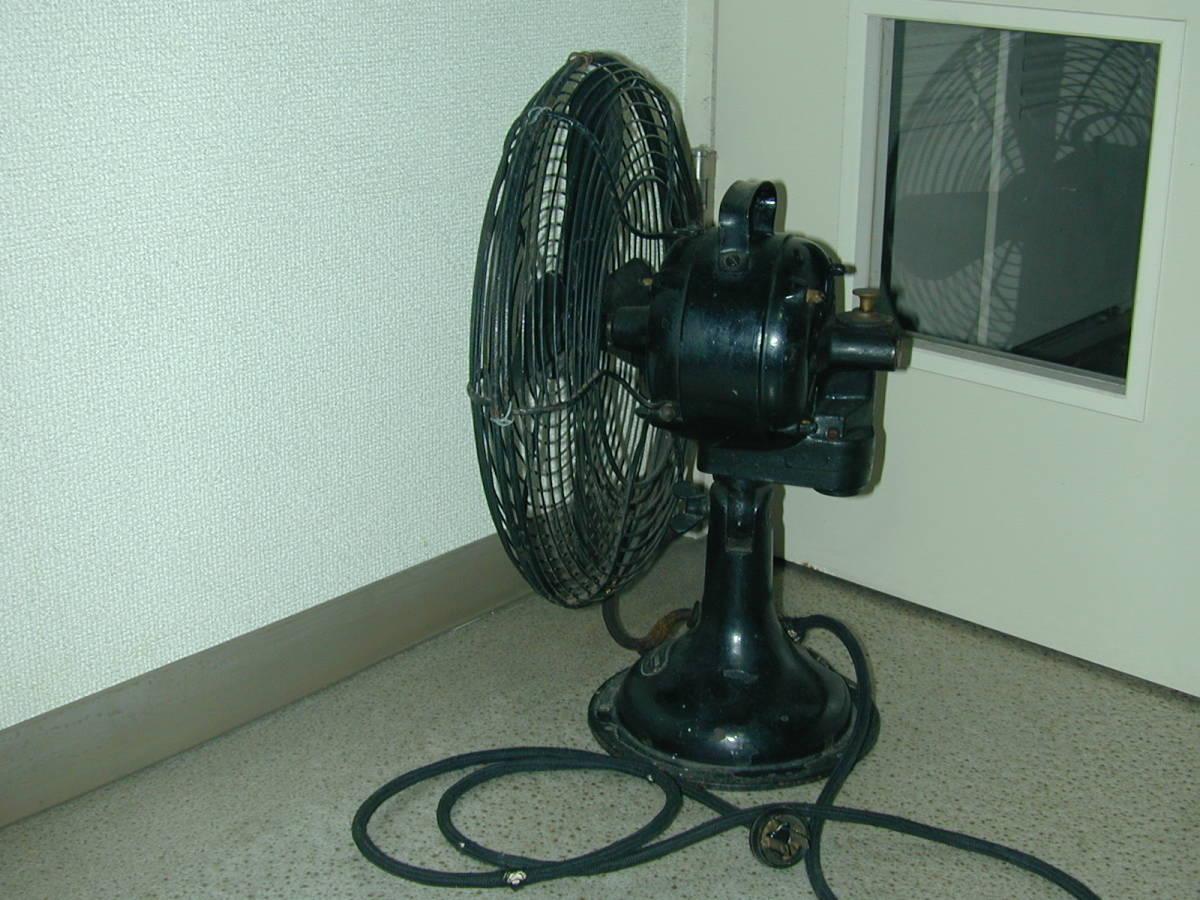 川北電気製作所(松下電器)レトロ扇風機 ジャンク (ビンテージ アンティーク)_画像2