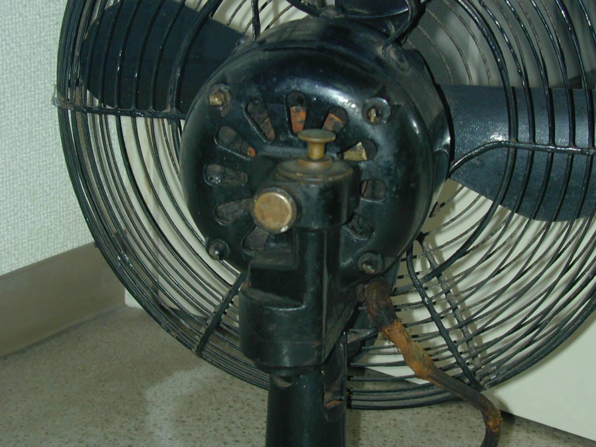 川北電気製作所(松下電器)レトロ扇風機 ジャンク (ビンテージ アンティーク)_画像5
