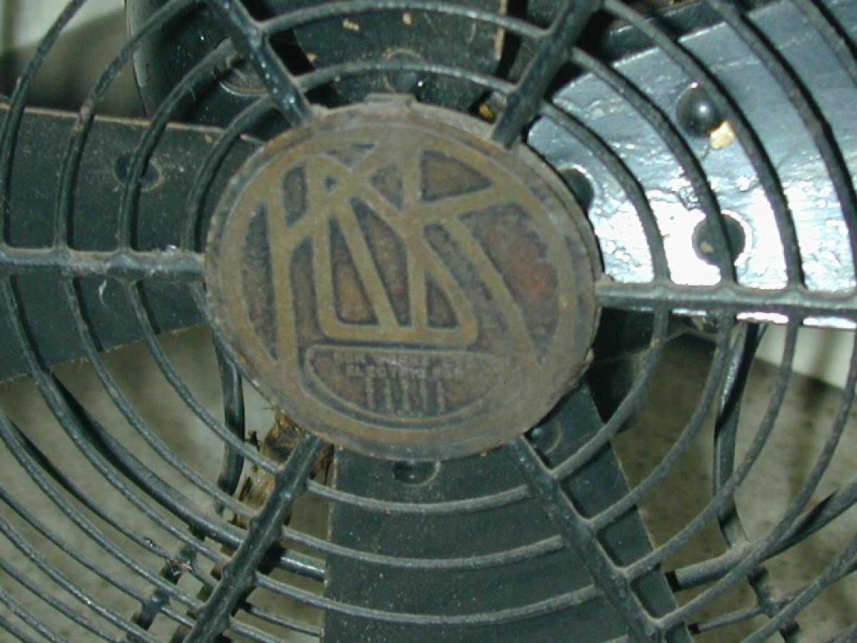 川北電気製作所(松下電器)レトロ扇風機 ジャンク (ビンテージ アンティーク)_画像8