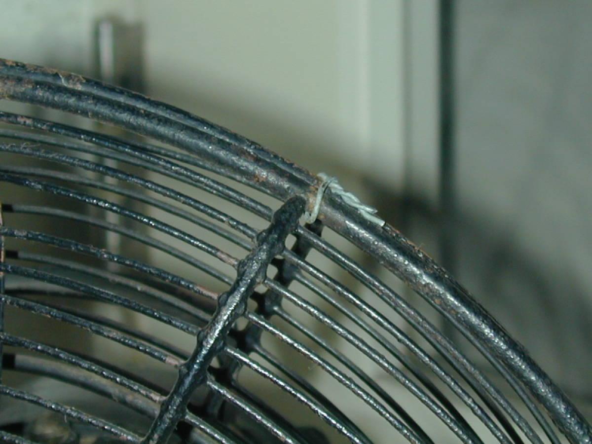 川北電気製作所(松下電器)レトロ扇風機 ジャンク (ビンテージ アンティーク)_画像9