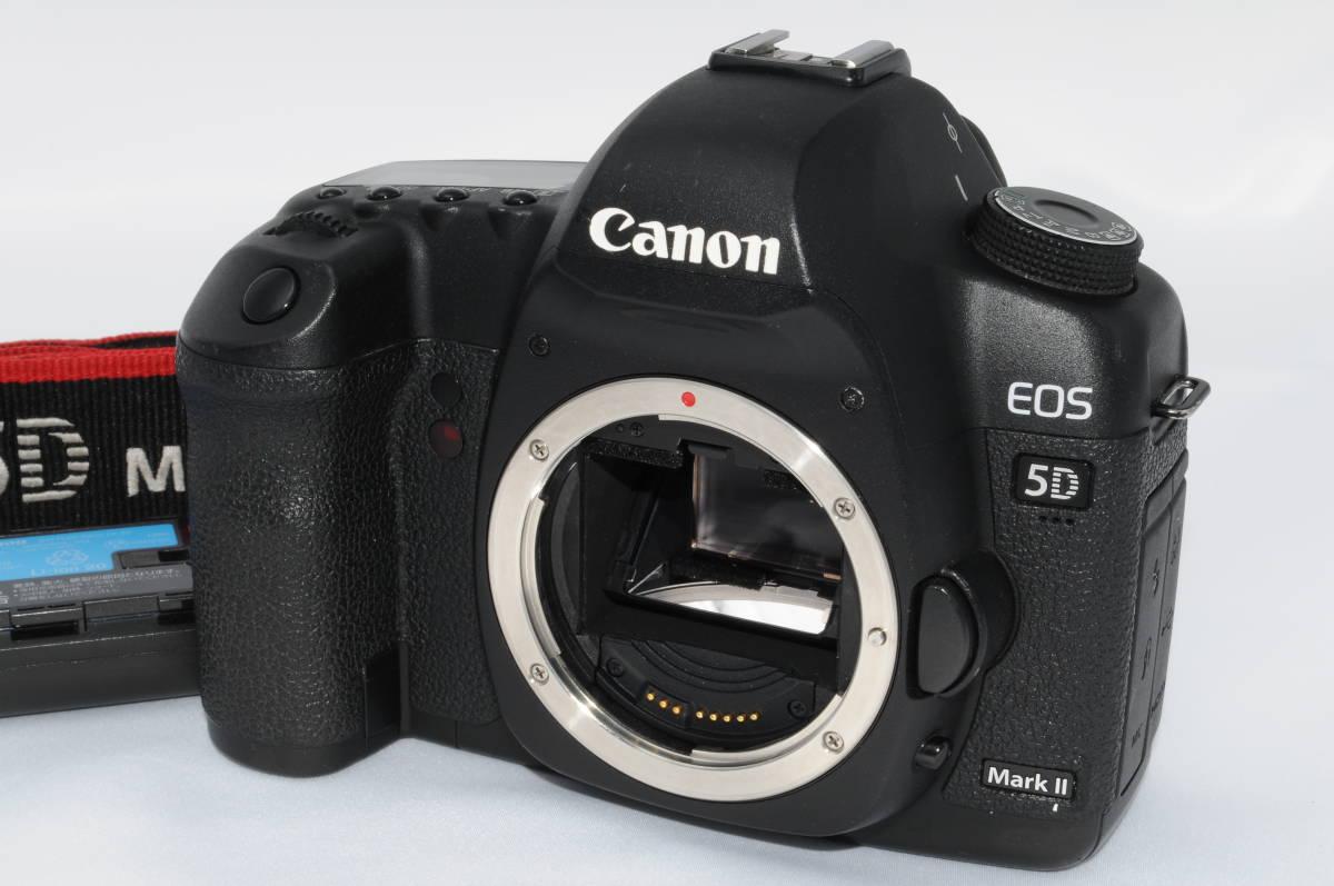 ★極上品★Canon キヤノン EOS 5D Mark II マーク2 ボディ ★外観・光学ともに綺麗なコン