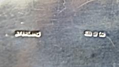 STARING SILVER スターリングシルバー 925 純銀ティーサービスセット(ティーポット・シュガー・ミルクカップセット) _画像8