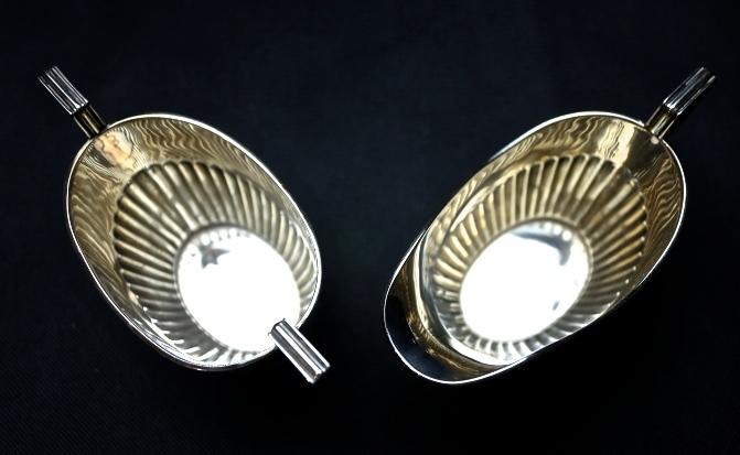 STARING SILVER スターリングシルバー 925 純銀ティーサービスセット(ティーポット・シュガー・ミルクカップセット) _画像6