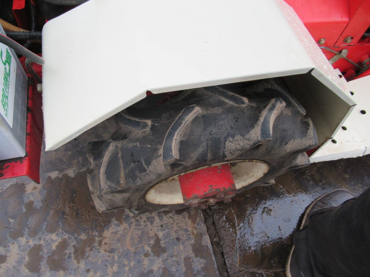 乗用草刈機 ワドー BM13K 4WD 実動品 長野市_画像6