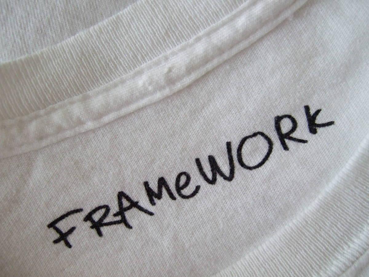 ★ FRAMEWORK フレームワーク ミッキー oops! Tシャツ ディズニー ミッキーマウス_画像3
