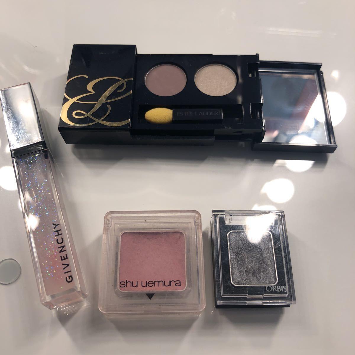 Shu Uemura estilo -da- Givenchy Orbis eyeshadow gloss tepakos set cosme