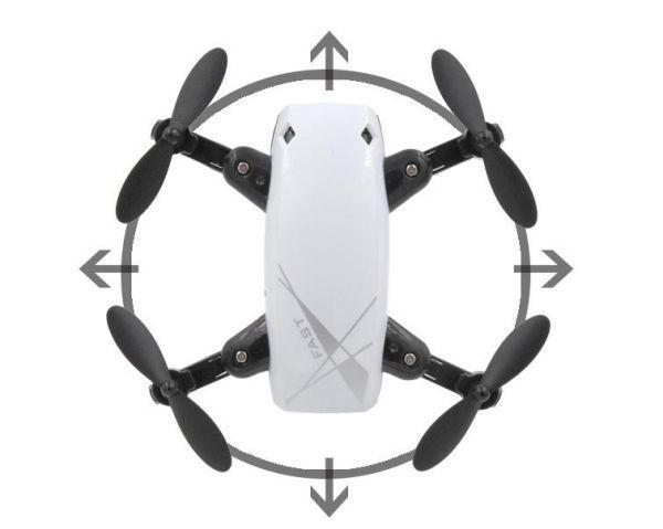 0148ドローン トイドローン Drone ラジコン マルチコプター クアッドコプター 無人機 空撮 カメラ付き マルチコプター 航空機 ブルー_画像9