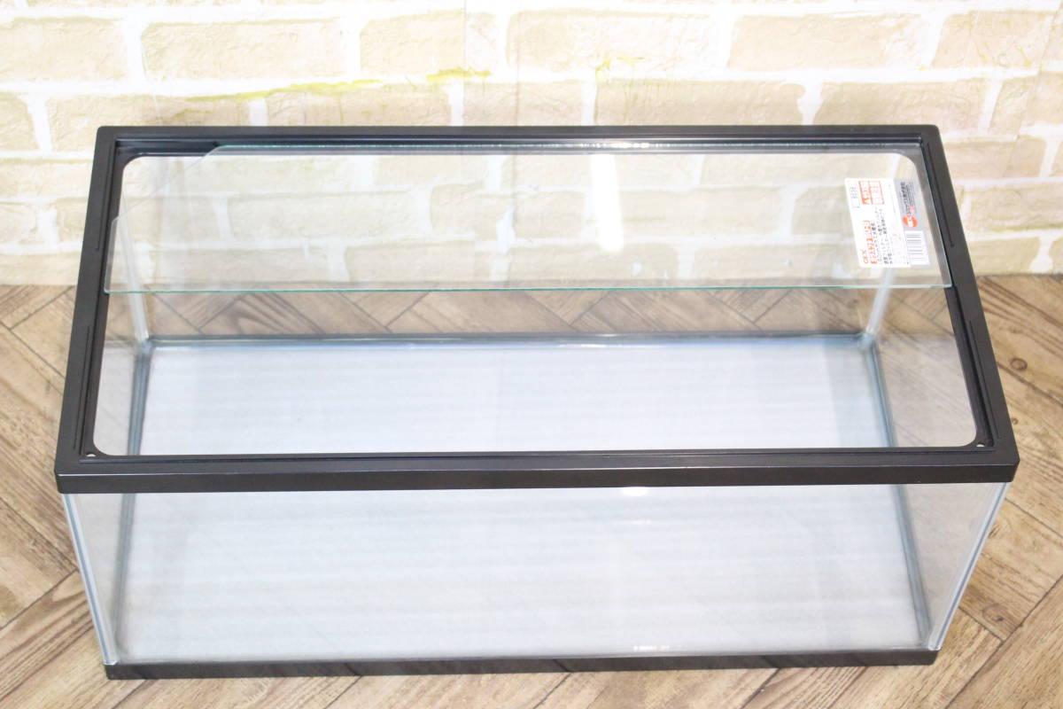 【美品】 GEX 水槽 60×26×30cm 飼育 ペット 熱帯魚 魚 (W-4400)_画像3