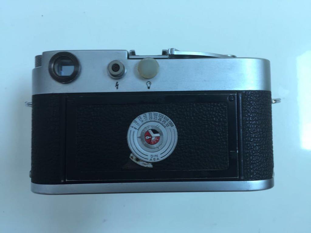 Leica M3 ボディ Summarit 50mm f1.5_画像6