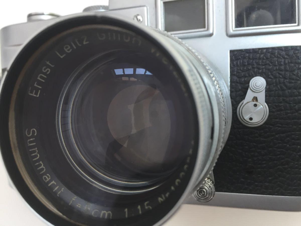 Leica M3 ボディ Summarit 50mm f1.5_画像3