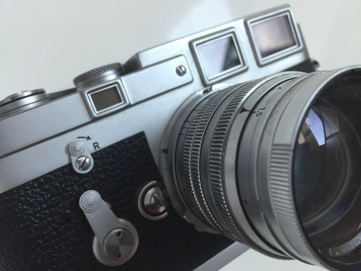 Leica M3 ボディ Summarit 50mm f1.5_画像4