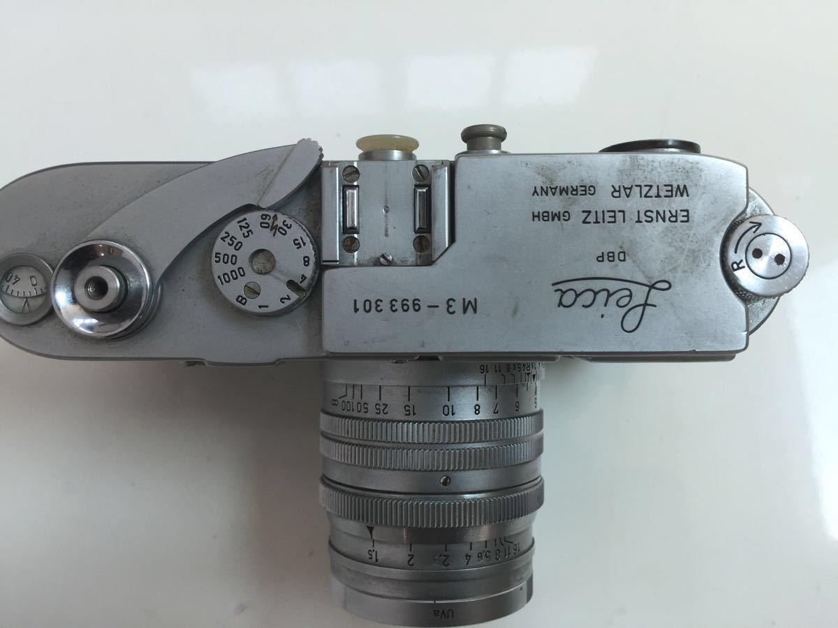 Leica M3 ボディ Summarit 50mm f1.5_画像5