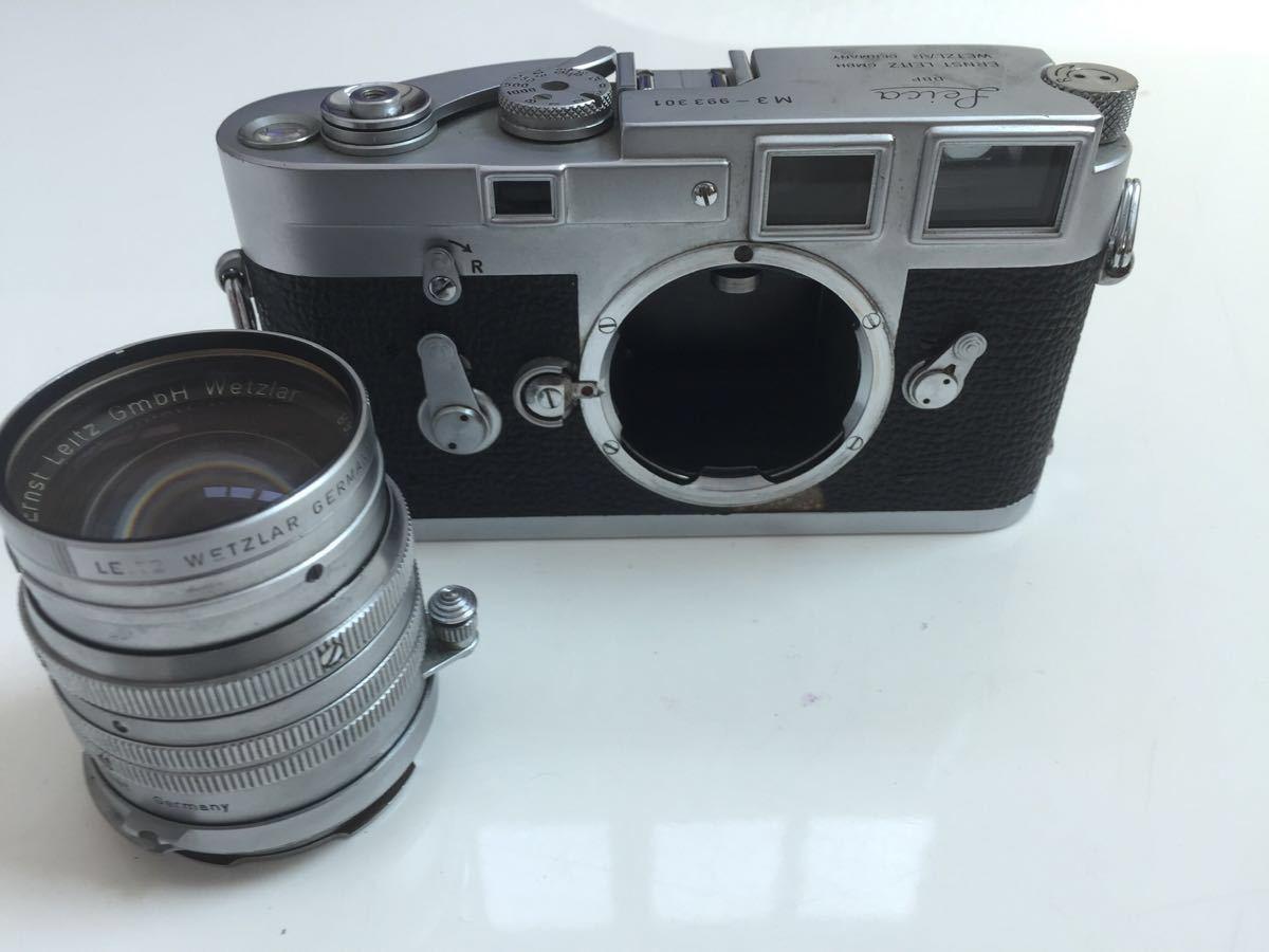 Leica M3 ボディ Summarit 50mm f1.5_画像9