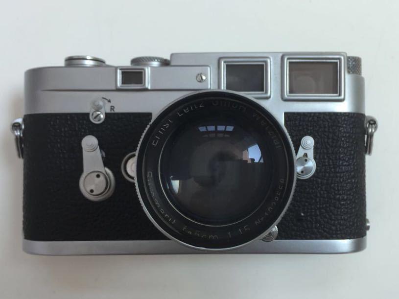 Leica M3 ボディ Summarit 50mm f1.5