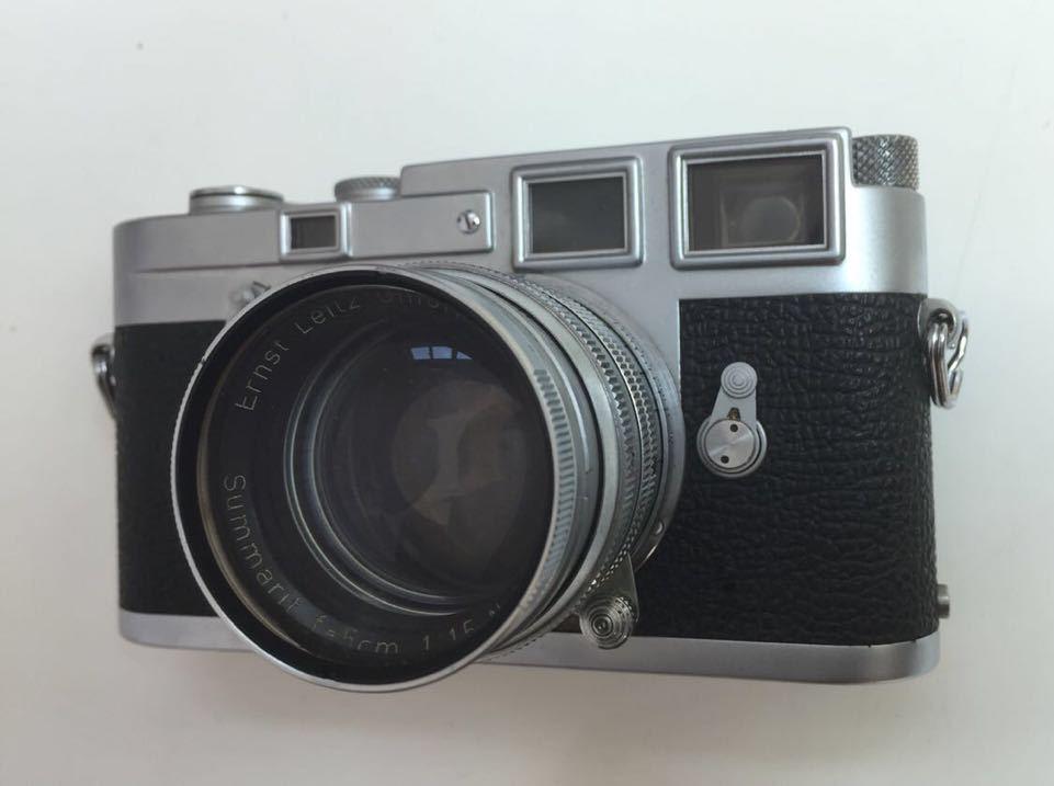 Leica M3 ボディ Summarit 50mm f1.5_画像2
