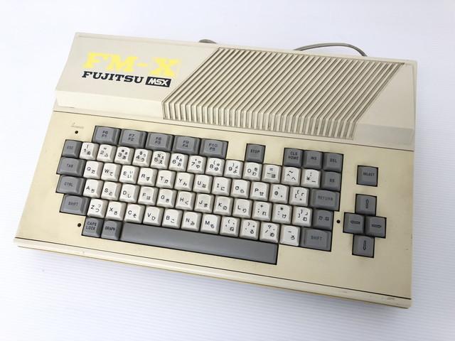 A820-6【富士通】MSX FM-X TYPEMB25150☆ジャンク