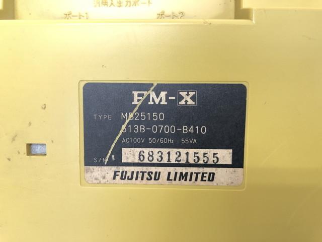 A820-6【富士通】MSX FM-X TYPEMB25150☆ジャンク_画像6