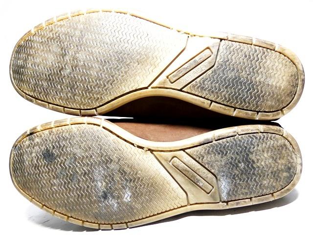 即決★米国製 Dexter★26cm レザーデッキシューズ デクスター メンズ 8H 茶 ブラウン 本革 ビジネス 本皮 スリッポン 革靴_画像5