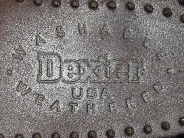 即決★米国製 Dexter★26cm レザーデッキシューズ デクスター メンズ 8H 茶 ブラウン 本革 ビジネス 本皮 スリッポン 革靴_画像6