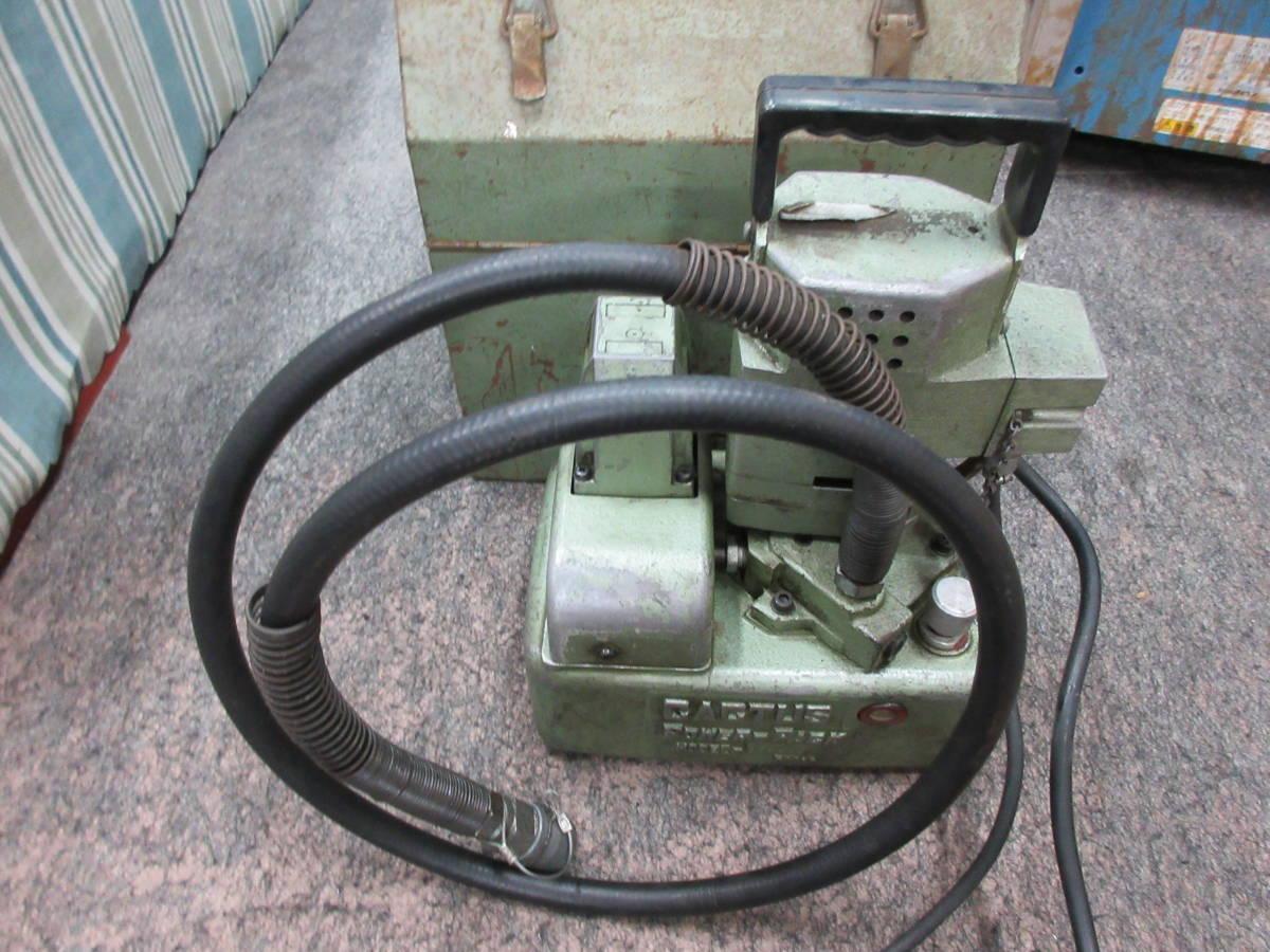 カクタス油圧電動ポンプ SEP-20  カッターベンダー等_画像4