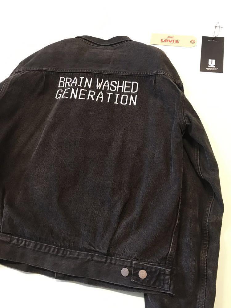 限定 UNDERCOVER × LEVI'S トラッカー ジャケット 2nd ビッグE デニム Gジャン アンダーカバー リーバイス セカンド ブルゾン TYPE2 BIGE